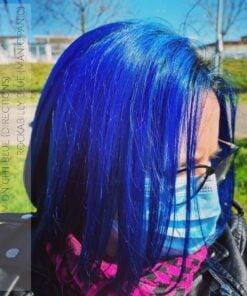 Merci @poupicrousti :) Coloration Cheveux Bleu Minuit - Directions | Color-Mania