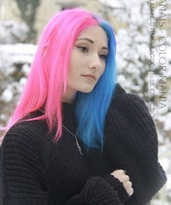 Merci Anais :) Coloration Cheveux Bleu Lagon – Directions | Color-Mania