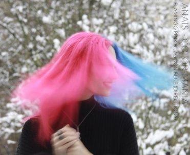 Merci Anais :) Coloration Cheveux Bleu Lagon – Directions | Color-Mania