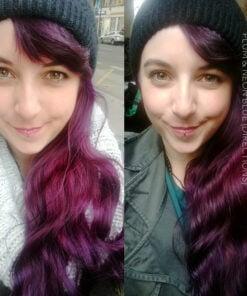Vielen Dank Annabelle :) Haarfarbe Blue Electric - Anfahrt | Farblich Mania