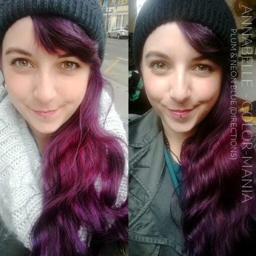Grazie Annabelle :) Colore dei capelli Blu elettrico - Indicazioni | Color-Mania