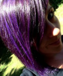 Merci Audrey ! - Coloration Cheveux Violet Prune (Plum) - La Riché Directions - Color-Mania