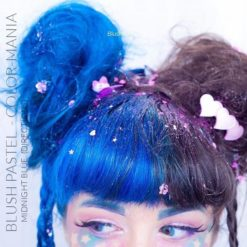 Merci Blush Pastel :) Coloration Cheveux Bleu Minuit - Directions | Color-Mania