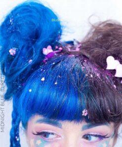 Merci Blush Pastel :) Coloration Cheveux Bleu Minuit - Directions | Color-Mania