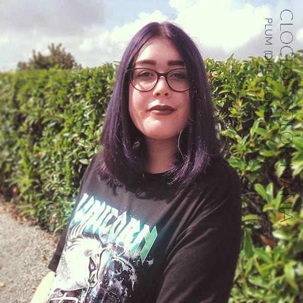 Merci Cloclo :) Coloration Cheveux Violet Prune – Directions | Color-Mania