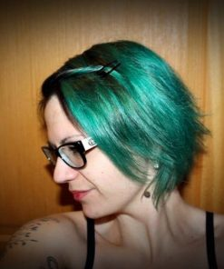 Merci Cyrielle :) Coloration Cheveux Vert Alpin - Directions | Color-Mania