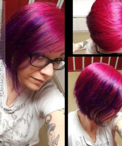 Merci Cyrielle :) Coloration Cheveux Flamant Rose - Directions   Color-Mania