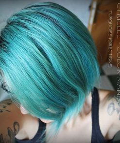 Merci Cyrielle :) Coloration Cheveux Turquoise - Directions | Color-Mania
