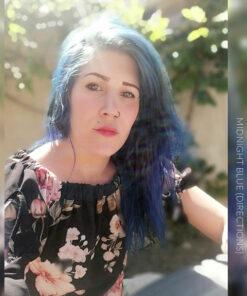 Merci Dylan Mélanie :) Coloration Cheveux Bleu Minuit - Directions | Color-Mania