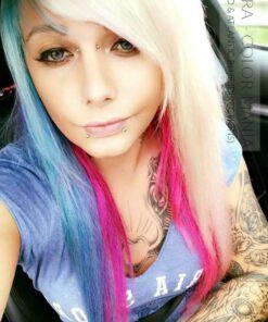 Merci Enora :) Coloration Cheveux Bleu Atlantique - Directions | Color-Mania