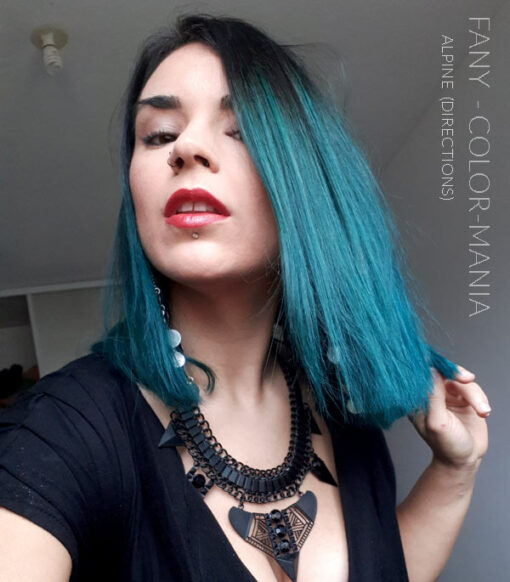 Merci Fanny :) Coloration Cheveux Vert Alpin - Directions | Color-Mania