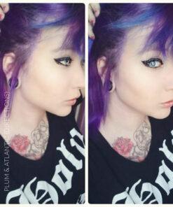 Merci FelineOblivion :) Coloration Cheveux Violet Prune – Directions   Color-Mania
