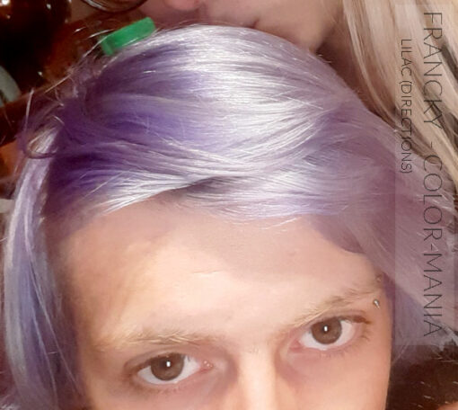 Merci Francky :) Coloration Cheveux Lilas - Directions | Color-Mania