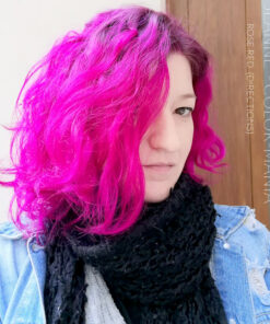 Merci Jeanne :) Coloration Cheveux Rouge Rose - Directions   Color-Mania