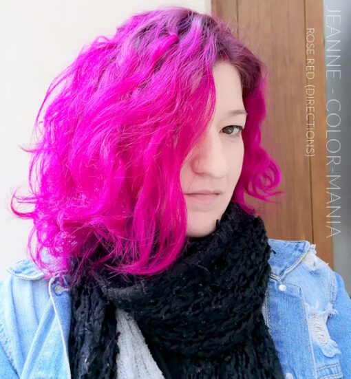 Merci Jeanne :) Coloration Cheveux Rouge Rose - Directions | Color-Mania