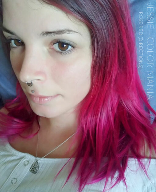 Merci Jessie :) Coloration Cheveux Rouge Rose - Directions | Color-Mania