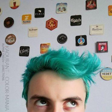 Merci Kaourant ! :) - Coloration Cheveux Vert Alpin (Alpine Green) - La Riché Directions - Color-Mania