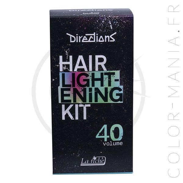 Kit de decoloración para el cabello Vol 40 - Direcciones | Color-Mania