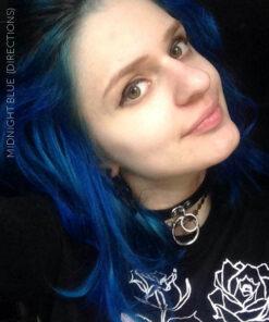 Merci Lolita :) Coloration Cheveux Bleu Minuit - Directions | Color-Mania