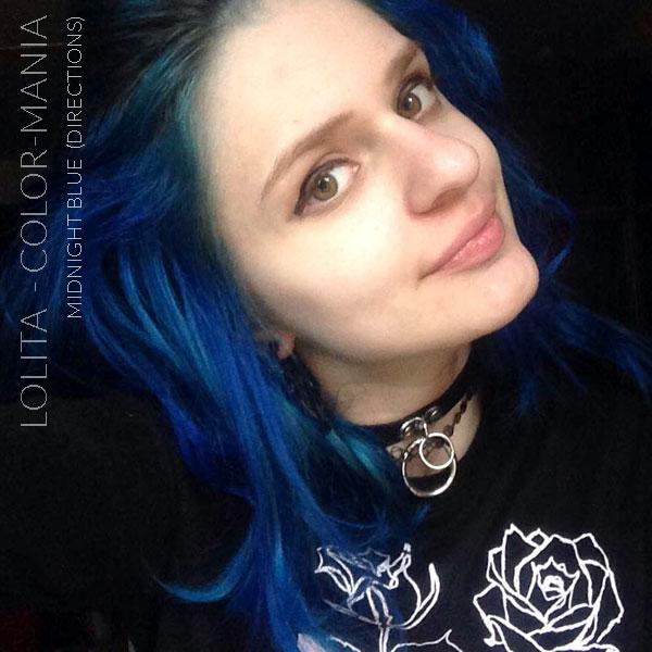 Thank you Lolita :) Coloración del cabello de medianoche azul - Indicaciones | Color-Mania