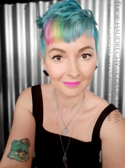 Merci Lucie Haudrechy :) Coloration Cheveux Jaune Fluo – Directions | Color-Mania