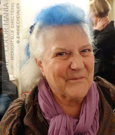 Merci Lucienne :) Coloration Cheveux Bleu Minuit - Directions | Color-Mania