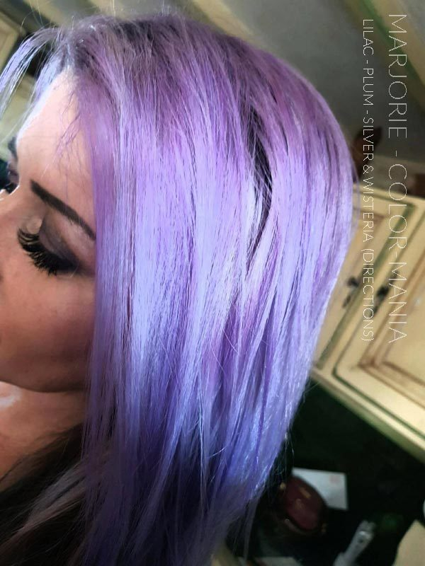 Merci Marjorie :) Coloration Cheveux Violet Prune – Directions | Color-Mania
