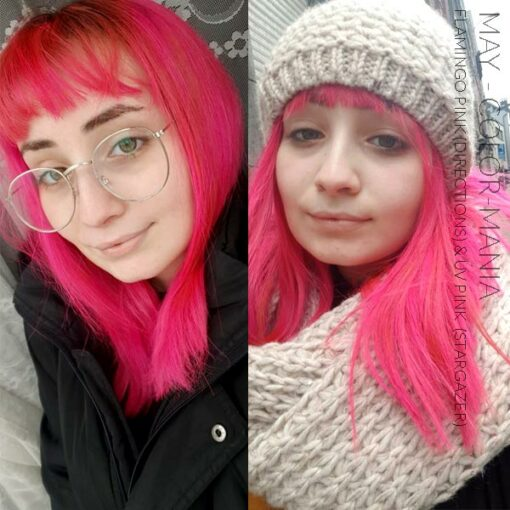 Merci May :) Coloration Cheveux Rose Fluo UV – Stargazer | Color-Mania