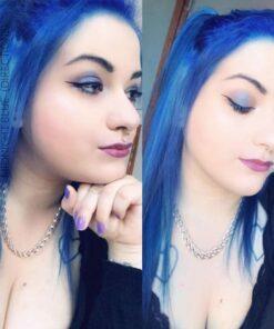 Merci @medusa_polka :) Coloration Cheveux Bleu Minuit - Directions | Color-Mania