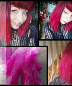Merci Moiselle Nadeij :) Coloration Cheveux Rouge Rose - Directions   Color-Mania