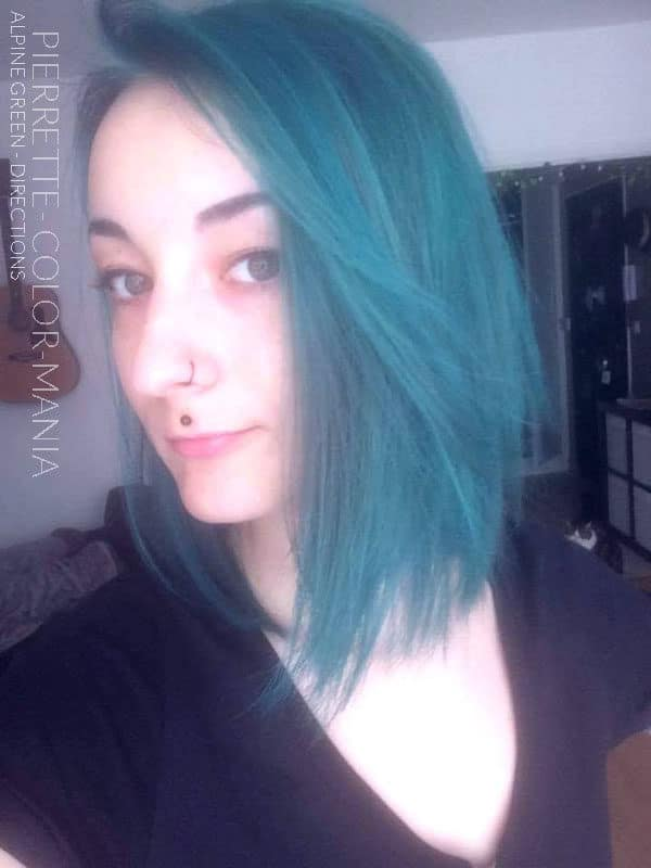 Vert - Merci Pierrette :) Coloration Cheveux Vert Alpin - Directions