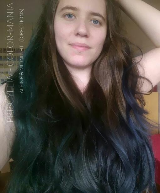 Merci Priscyllia :) Coloration Cheveux Vert Alpin - Directions - Sur base non décolorée | Color-Mania
