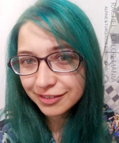 Merci Rachel :) Coloration Cheveux Vert Alpin - Directions | Color-Mania