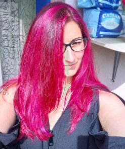 Merci Sandra :) Coloration Cheveux Rouge Rose - Directions   Color-Mania