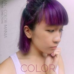 Merci Xuan ! :) - Coloration Cheveux Violet Prune (Plum) - La Riché Directions - Color-Mania