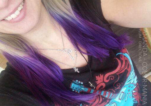 Merci Amanda ! :) - Coloration Cheveux violet Plum - La Riché Directions - Color-Mania