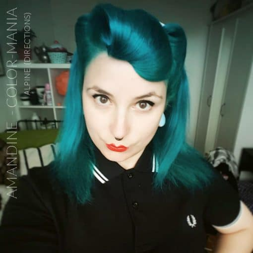 Merci Amandine :) Coloration Cheveux Vert Alpin - Directions | Color-Mania