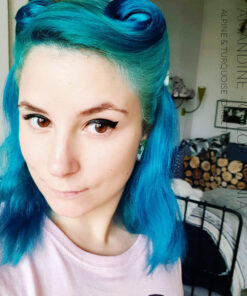 Merci Amandine :) Coloration Cheveux Turquoise - Directions | Color-Mania