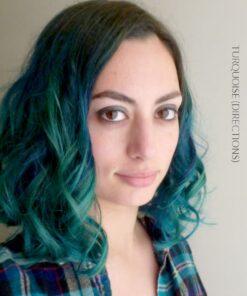 Merci @fineombre :) Coloration Cheveux Turquoise - Directions | Color-Mania
