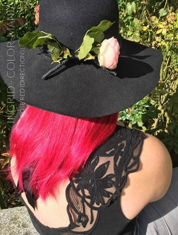 Merci Ingrid :) Coloration Cheveux Rouge Rose - Directions | Color-Mania