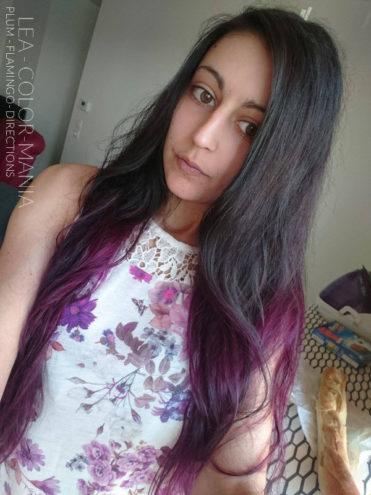 Ombré Rose - Merci Léa :) Coloration Cheveux Flamand Rose - Directions