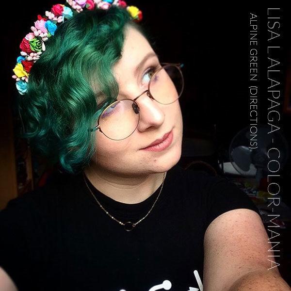 Merci Lisa L Alapaga :) Coloration Cheveux Vert Alpin - Directions | Color-Mania