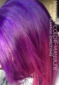 Merci Maeva :) Coloration Cheveux Prune et Flamand Rose - Directions