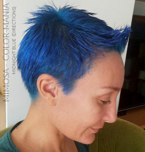 Merci Mimosa :) Coloration Cheveux Bleu Minuit - Directions | Color-Mania