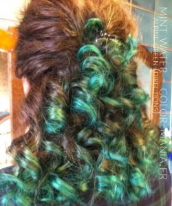 Merci Mint Water :) Coloration Cheveux Vert Alpin - Directions