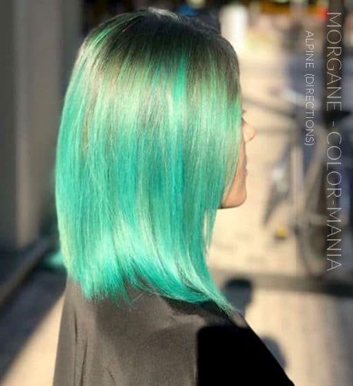 Merci Morgane :) Coloration Cheveux Vert Alpin - Directions | Color-Mania