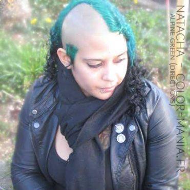 Merci Natacha ! Coloration Cheveux Vert Alpin - Directions