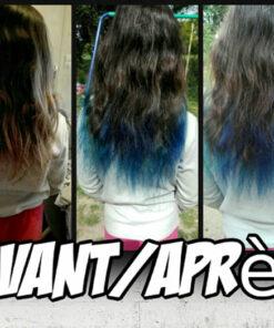 Merci Yuna :) Coloration Cheveux Bleu Minuit - Directions | Color-Mania