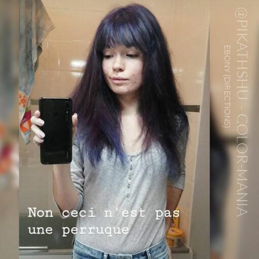 Merci @Pikathshu :) Coloration Cheveux Noir Ebène – Directions   Color-Mania
