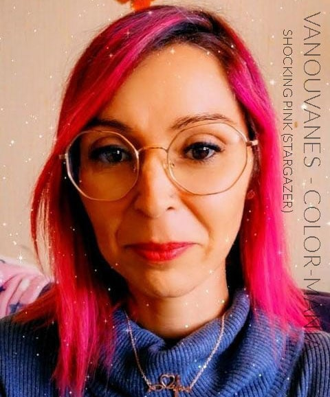 "Merci Vanouvanes :) Coloration Cheveux Rose ""Shocking Pink"" - Stargazer   Color-Mania"